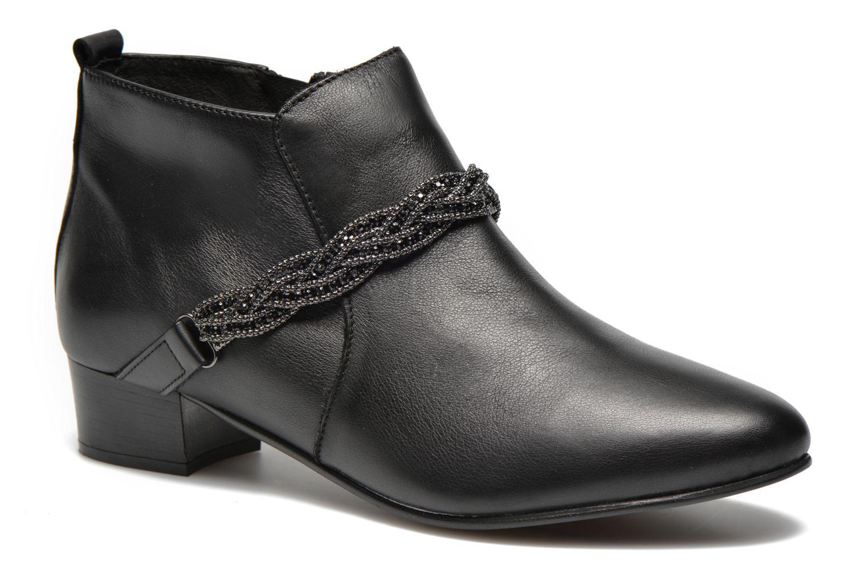 Bottines et boots Georgia Rose Lullueboot Noir vue détail/paire