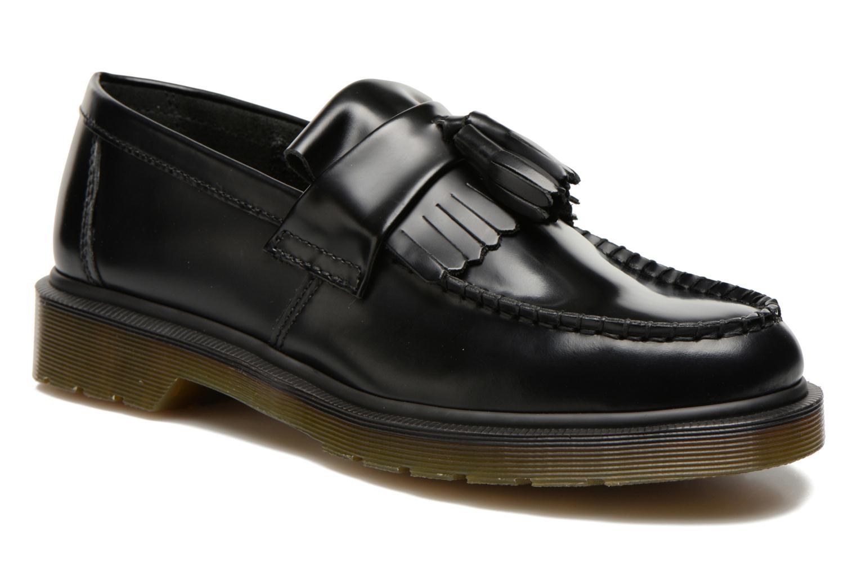 Adrian black polished smooth