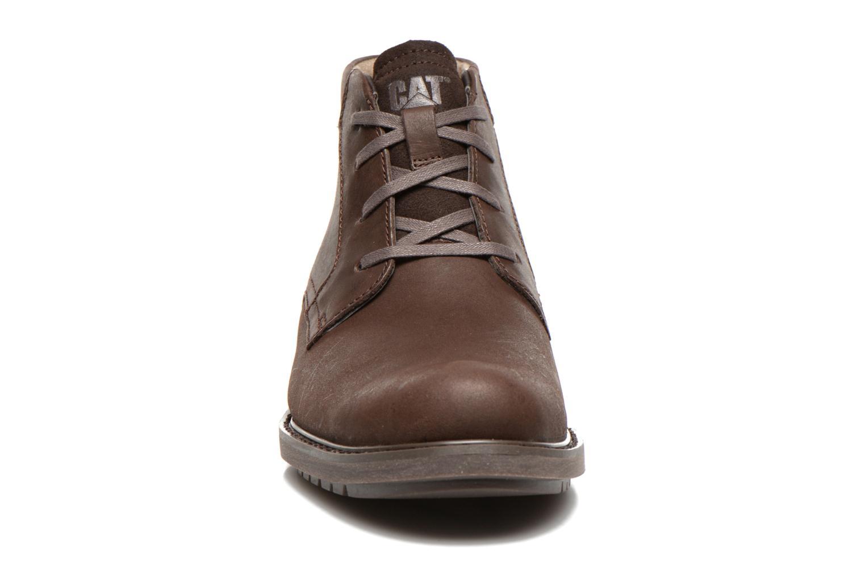 Stiefeletten & Boots Caterpillar Brock braun schuhe getragen