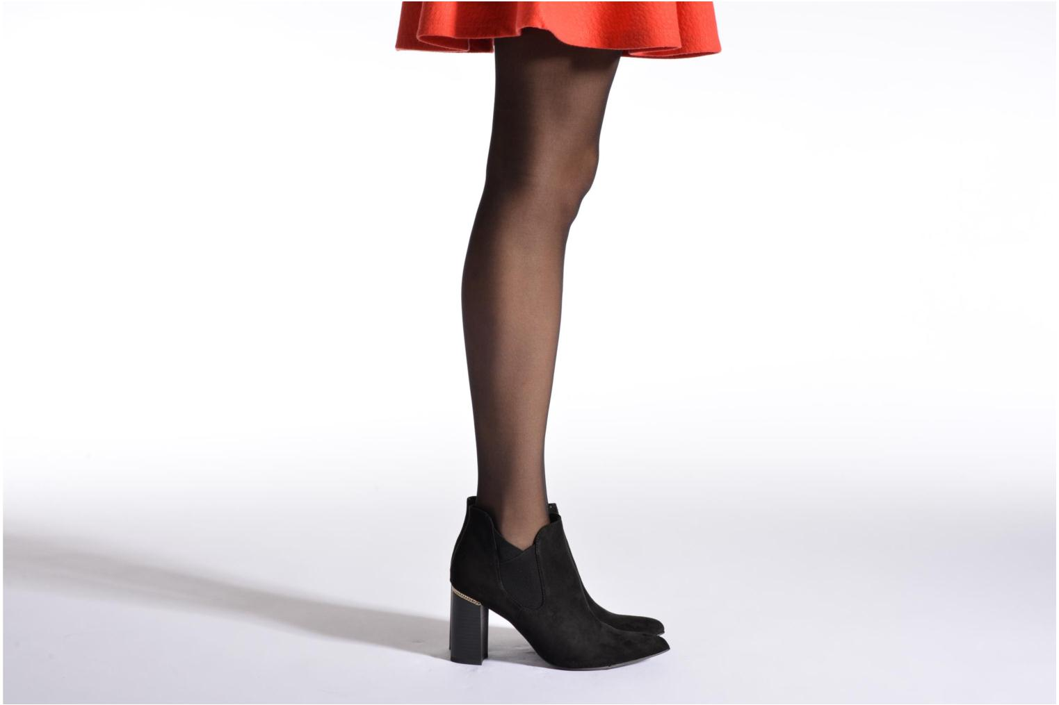 Ankle boots Tamaris Todepa Black view from underneath / model view