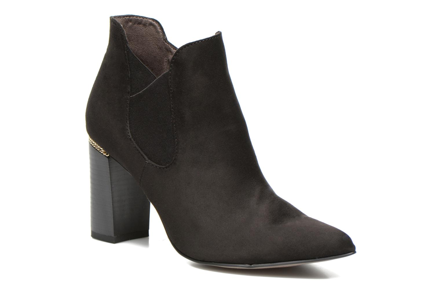 Ankle boots Tamaris Todepa Black detailed view/ Pair view
