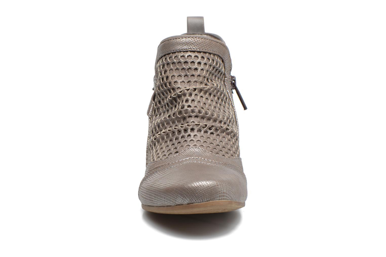 Stiefeletten & Boots Mustang shoes Molka grau schuhe getragen