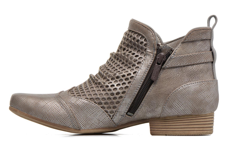 Bottines et boots Mustang shoes Molka Gris vue face