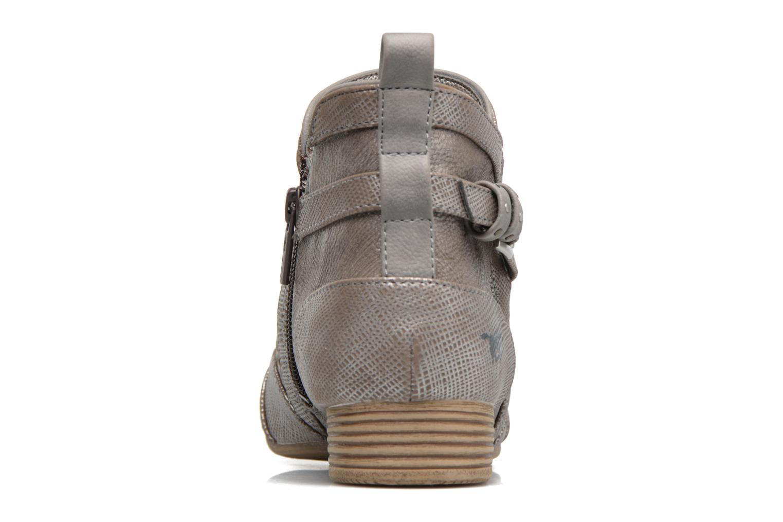 Bottines et boots Mustang shoes Molka Gris vue droite