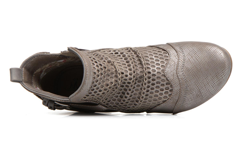 Stiefeletten & Boots Mustang shoes Molka grau ansicht von links