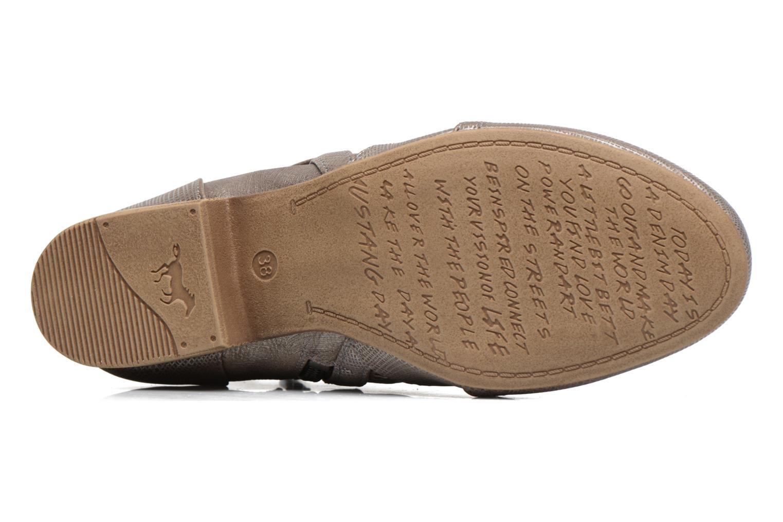 Bottines et boots Mustang shoes Molka Gris vue haut