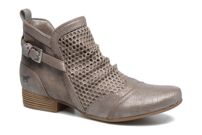 Bottines et boots Mustang shoes Molka Gris vue détail/paire
