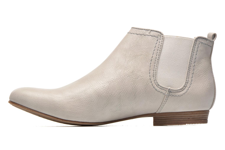 Bottines et boots Mustang shoes Juka Blanc vue face
