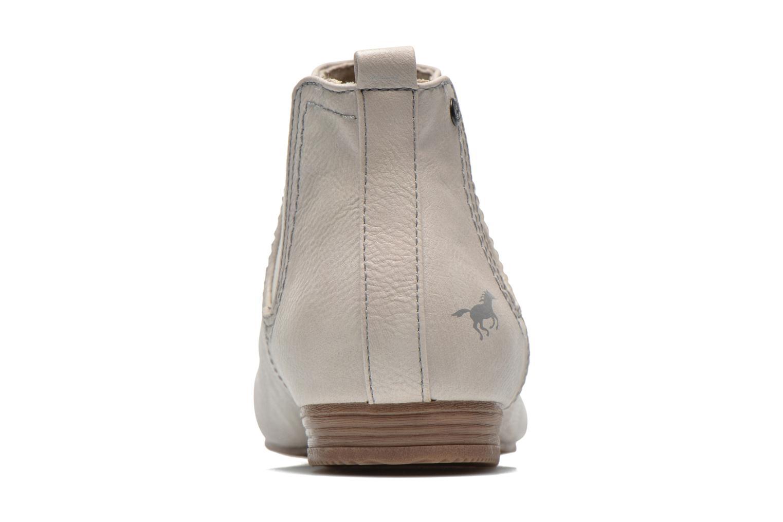 Bottines et boots Mustang shoes Juka Blanc vue droite