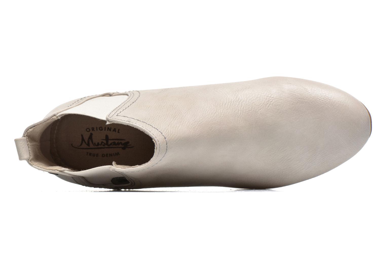 Bottines et boots Mustang shoes Juka Blanc vue gauche