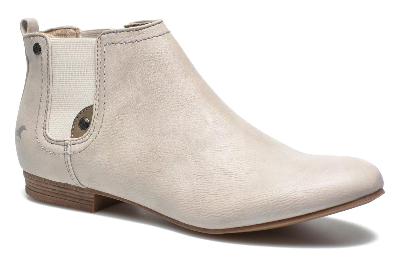 Bottines et boots Mustang shoes Juka Blanc vue détail/paire