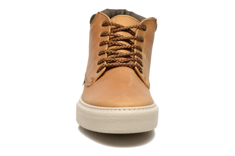 Chaussures à lacets Victoria Bota Piel Cuello Marron vue portées chaussures