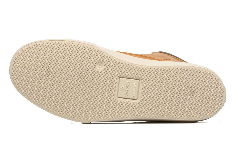 Chaussures à lacets Victoria Bota Piel Cuello Marron vue haut