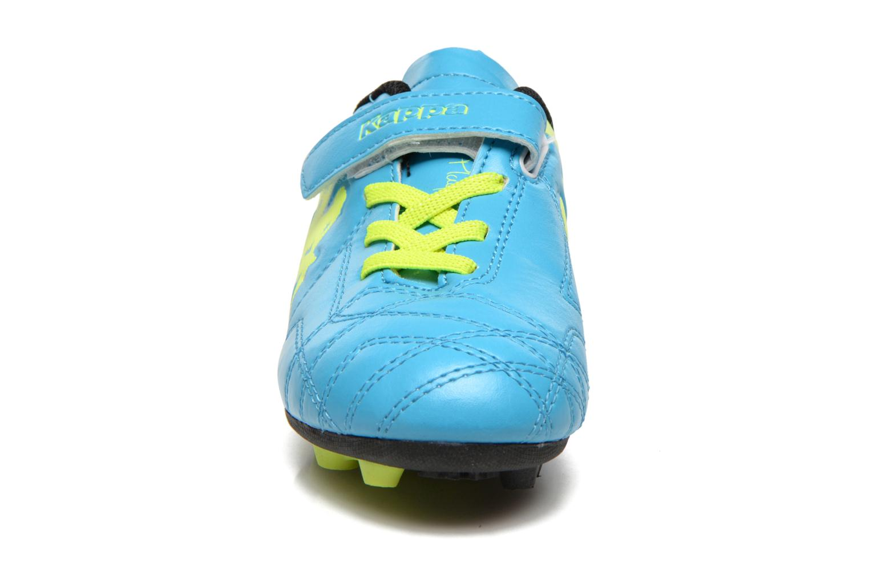 Sportschuhe Kappa Player FG EV blau schuhe getragen