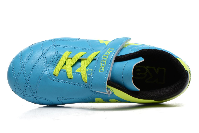 Zapatillas de deporte Kappa Player FG EV Azul vista lateral izquierda