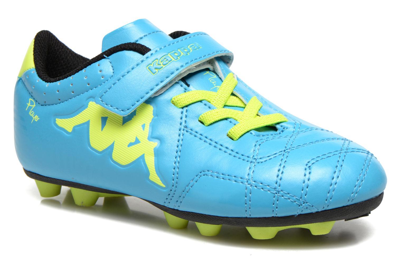 Sport shoes Kappa Player FG EV Blue detailed view/ Pair view