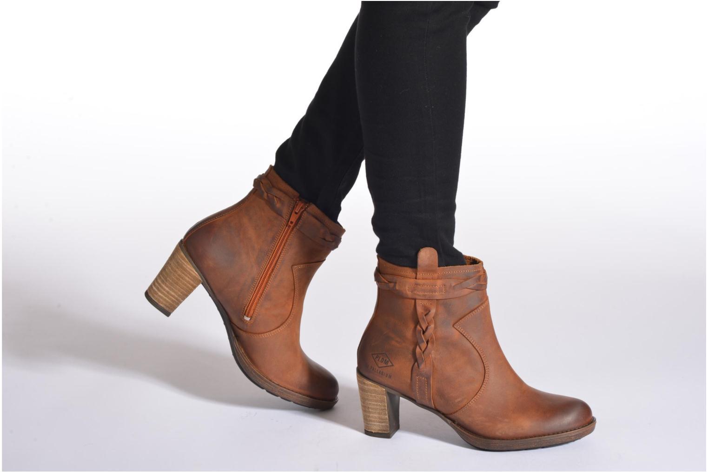 Bottines et boots P-L-D-M By Palladium Stony CSR Marron vue bas / vue portée sac