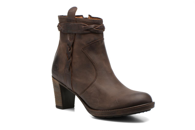 Bottines et boots P-L-D-M By Palladium Stony CSR Marron vue détail/paire