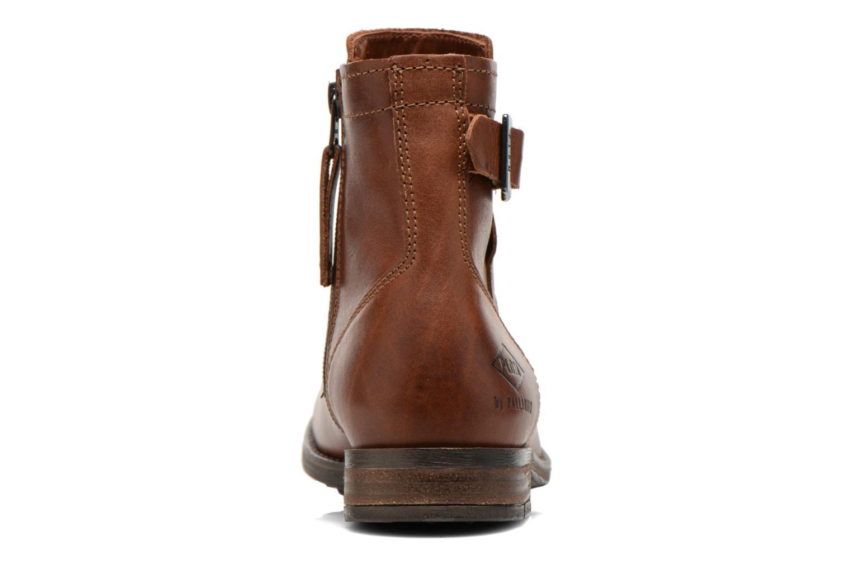 Bottines et boots P-L-D-M By Palladium Underlay Marron vue droite