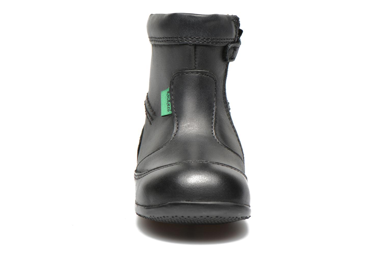 Bottes Kickers Bibi Noir vue portées chaussures