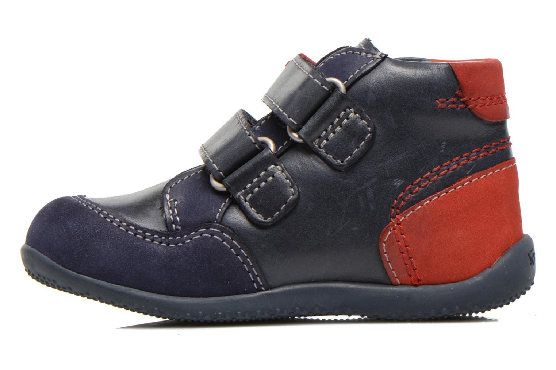 Stiefeletten & Boots Kickers Bi Too blau ansicht von vorne