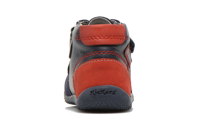 Stiefeletten & Boots Kickers Bi Too blau ansicht von rechts