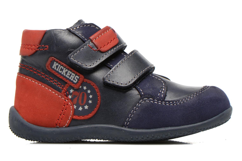 Stiefeletten & Boots Kickers Bi Too blau ansicht von hinten
