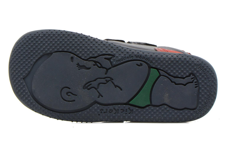 Stiefeletten & Boots Kickers Bi Too blau ansicht von oben