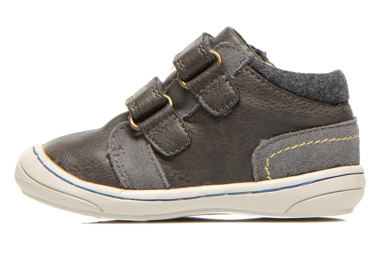 Baskets Kickers Zyva Wpf Gris vue face