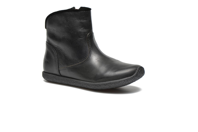 Bottines et boots Kickers Univers Noir vue détail/paire