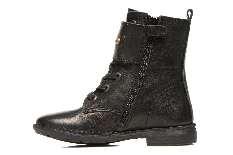 Bottines et boots Kickers Groovizz Noir vue face