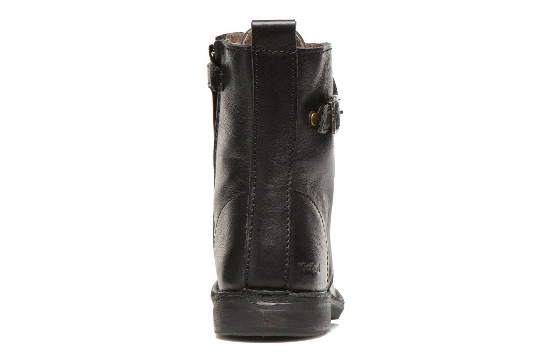 Bottines et boots Kickers Groovizz Noir vue droite