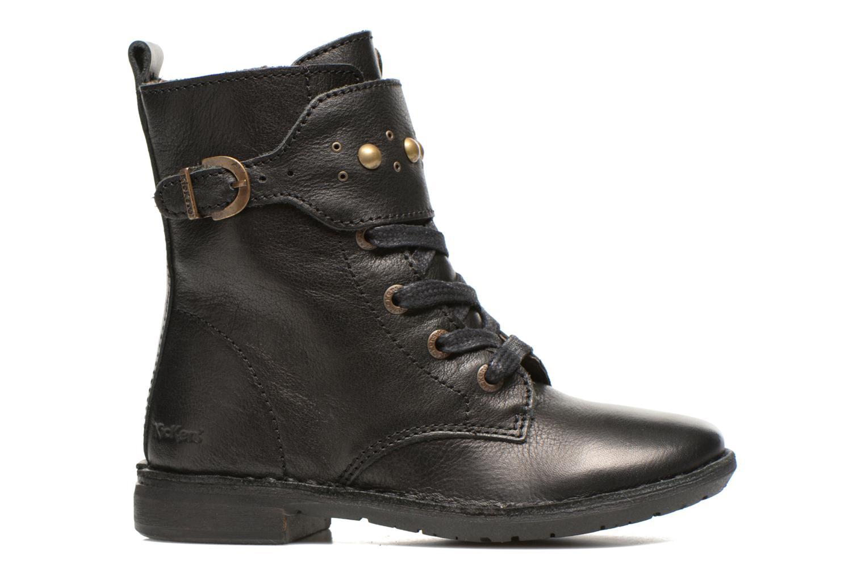 Bottines et boots Kickers Groovizz Noir vue derrière
