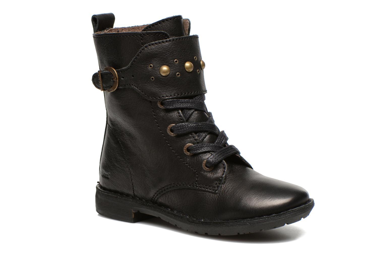 Bottines et boots Kickers Groovizz Noir vue détail/paire