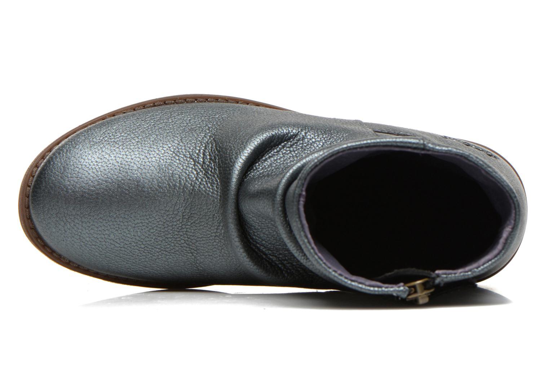 Bottines et boots Kickers Robber Bleu vue gauche