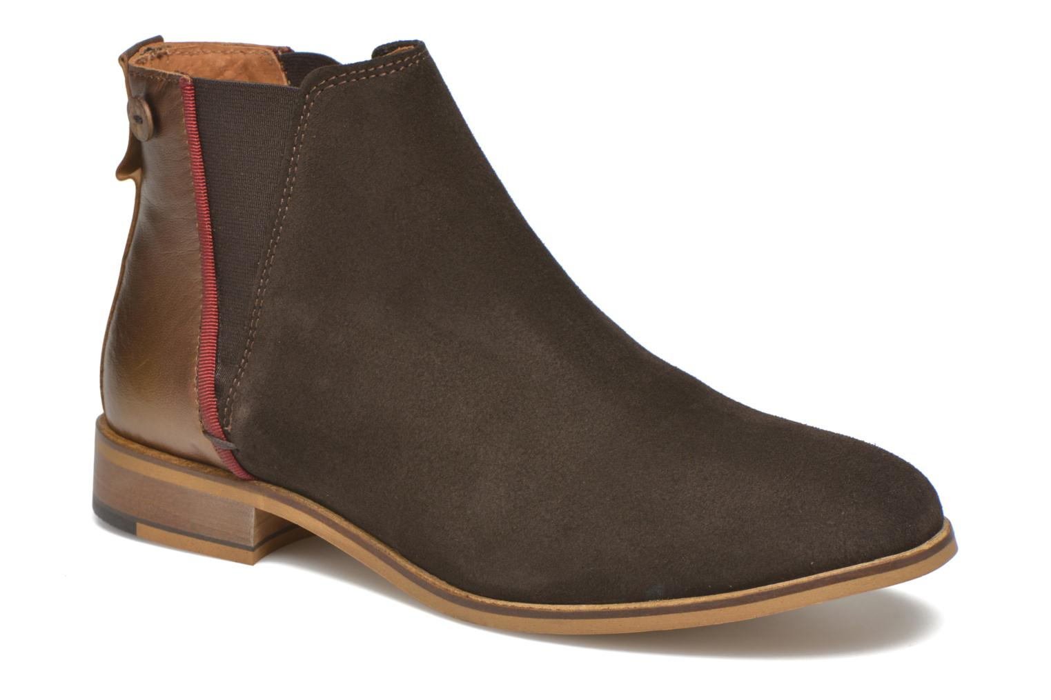 Bottines et boots Faguo Cherry Marron vue détail/paire