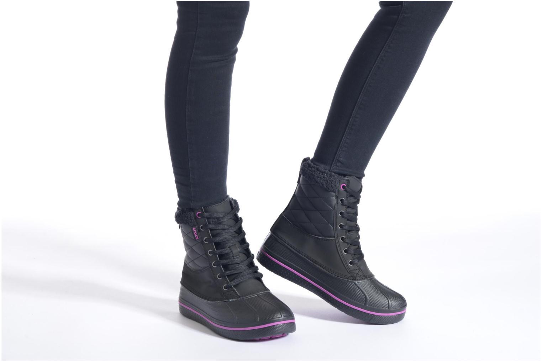 Bottines et boots Crocs AllCast Waterproof Duck Boot W Multicolore vue bas / vue portée sac