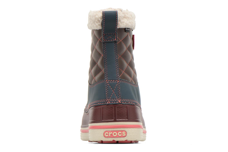 AllCast Waterproof Duck Boot W Nightfall/Coral