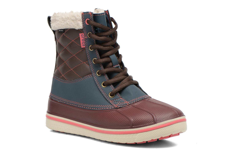 Bottines et boots Crocs AllCast Waterproof Duck Boot W Multicolore vue détail/paire