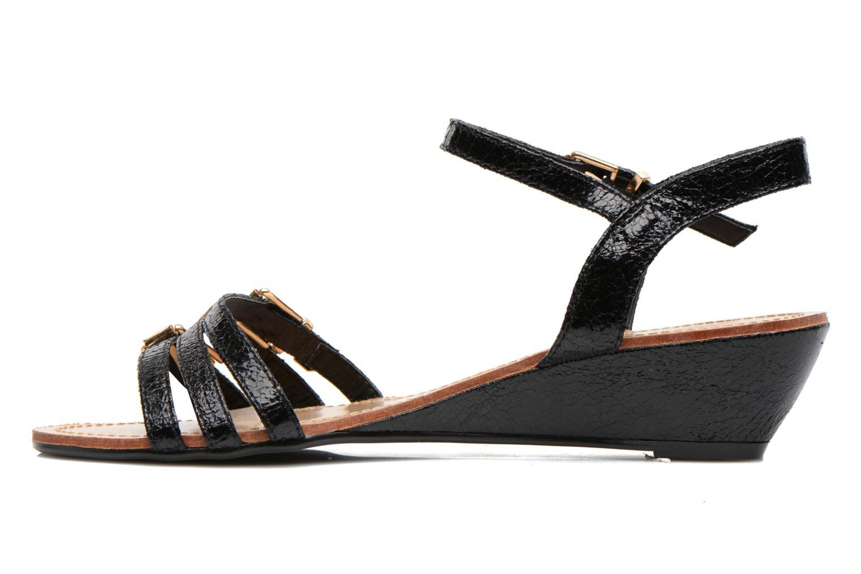 Sandales et nu-pieds Divine Factory Eliza Noir vue face