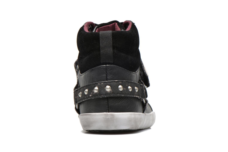 Sneaker Kaporal Snoozy schwarz ansicht von rechts