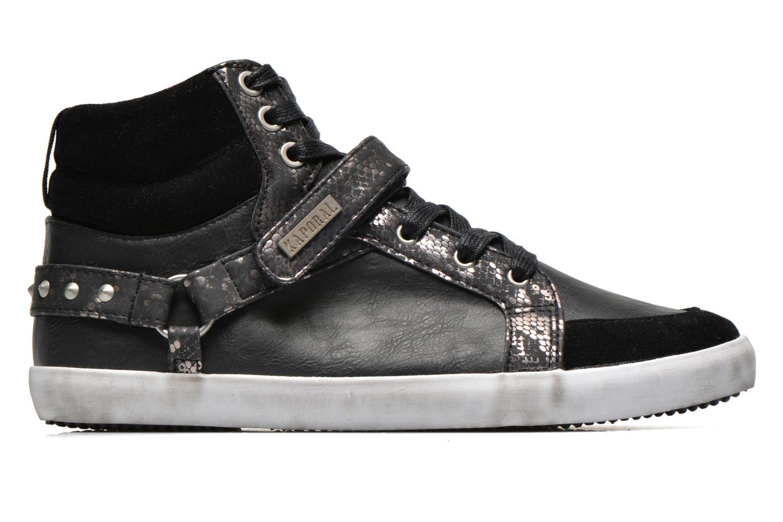 Sneaker Kaporal Snoozy schwarz ansicht von hinten