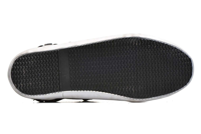Sneaker Kaporal Snoozy schwarz ansicht von oben