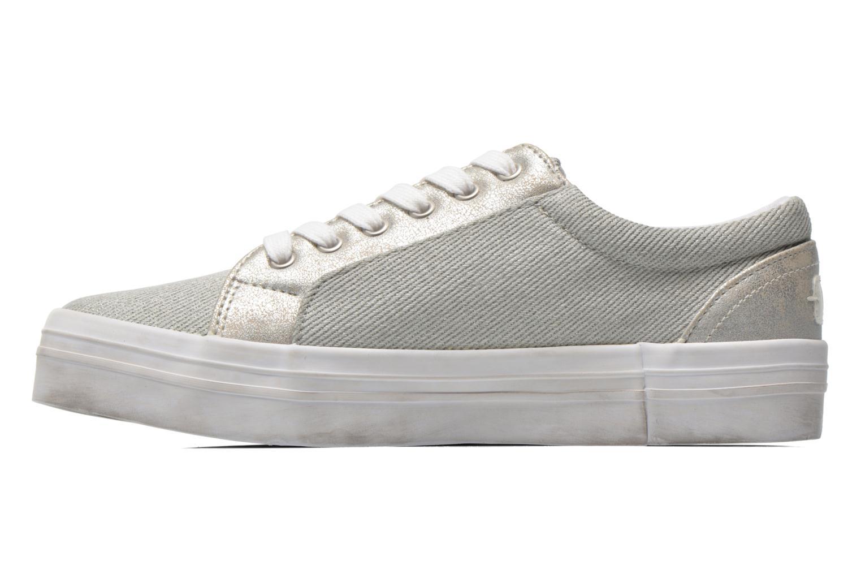Sneaker Kaporal Flex grau ansicht von vorne