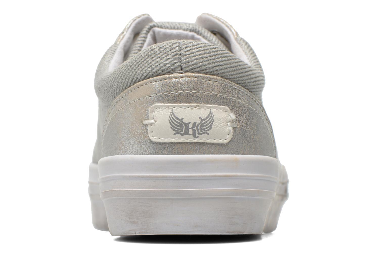 Sneaker Kaporal Flex grau ansicht von rechts