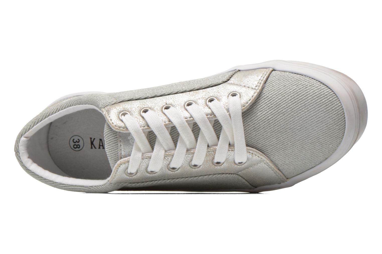 Sneaker Kaporal Flex grau ansicht von links