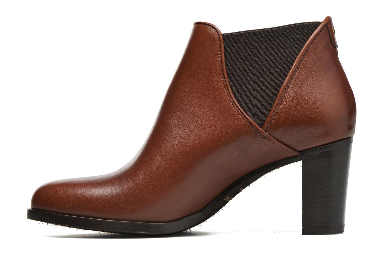 Bottines et boots COSMOPARIS Bamia Marron vue face