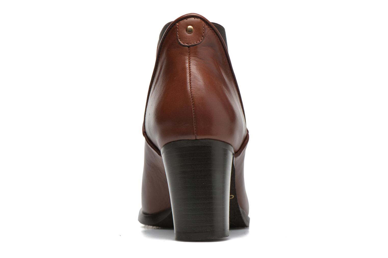 Bottines et boots COSMOPARIS Bamia Marron vue droite