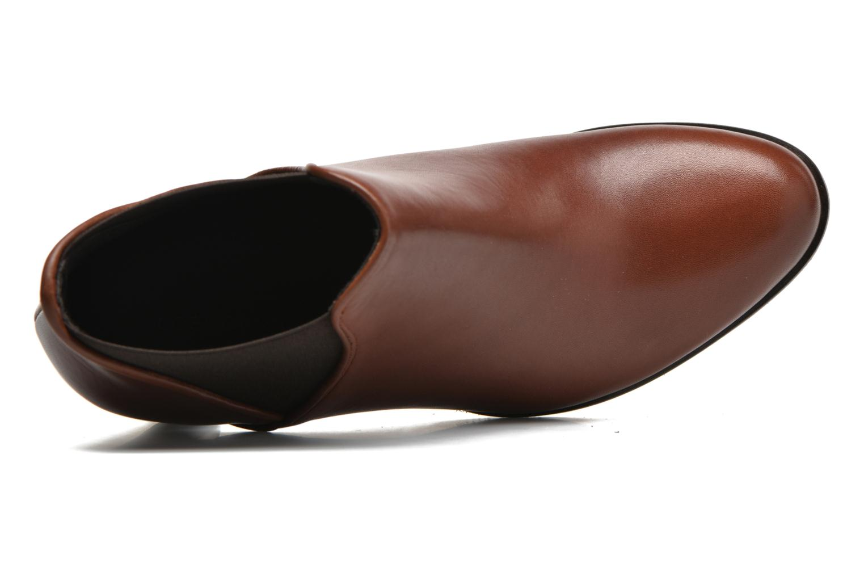 Bottines et boots COSMOPARIS Bamia Marron vue gauche