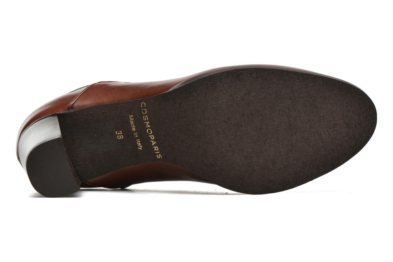 Bottines et boots COSMOPARIS Bamia Marron vue haut